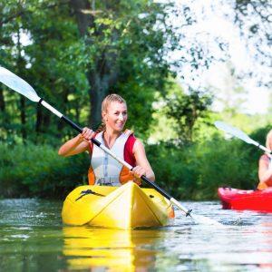 Kanutour Freizeit nachhaltiger Spaß